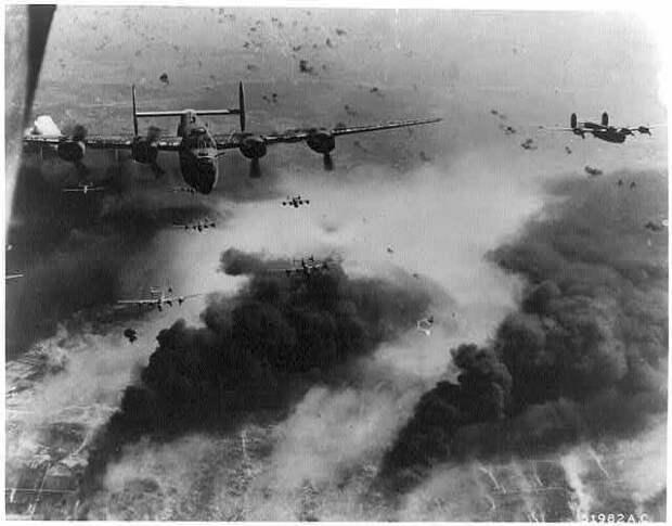 Операция «Tidal Wave». Стратегические бомбардировки Румынии Tidal Wave, бомбардировка, война, румыния