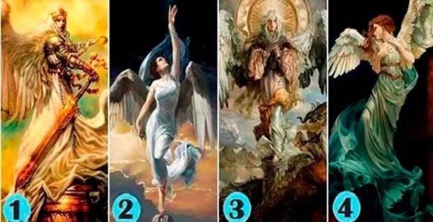 Выберите 1 из 4 образов — и узнаете, чего от вас хочет ваш ангел-хранитель