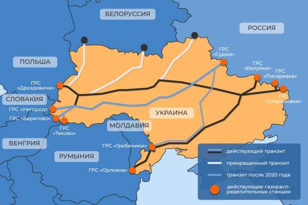 Меркель в Москву, цены на газ вниз, украинский транзит тоже