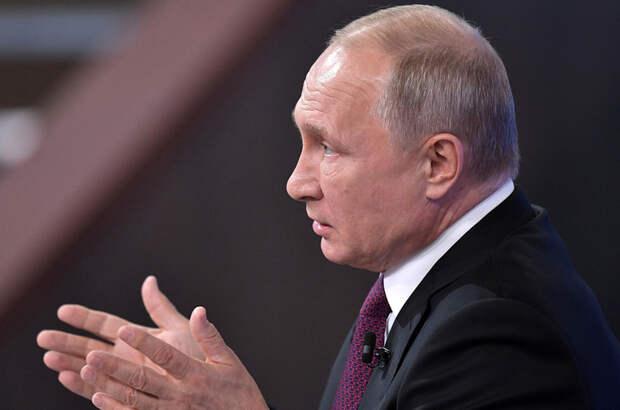 Путин: Россия непрерывно совершенствует новые виды вооружения
