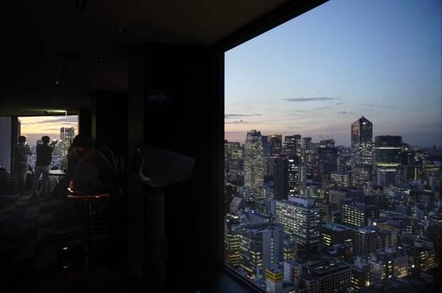 Токио: вид сверху