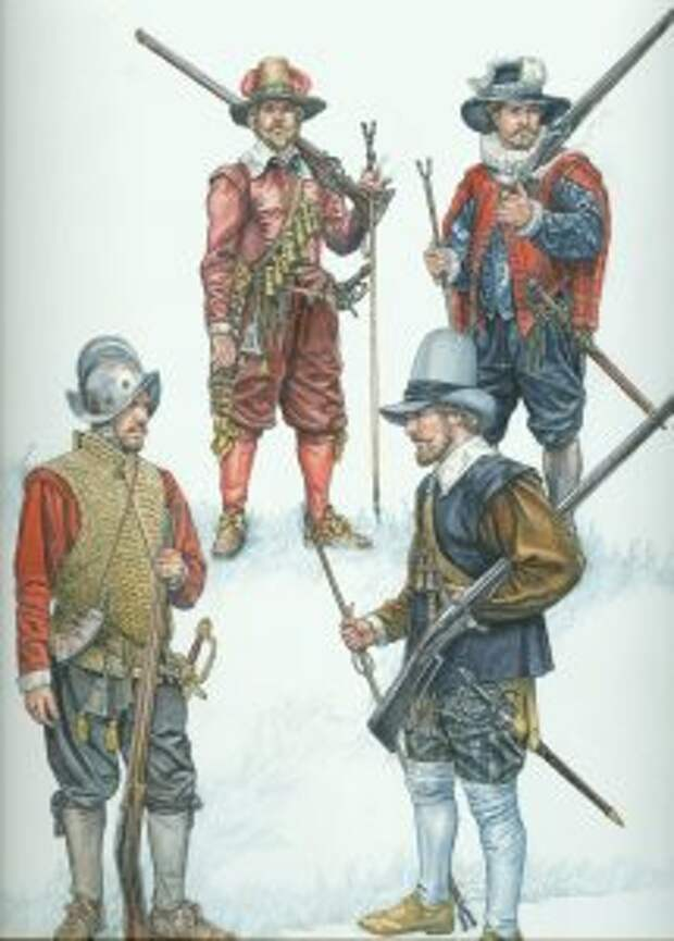 Время мушкетёров. Тактика европейских армий XVII века 4