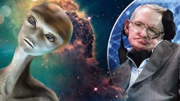 Стивена Хокинга убили пришельцы с Нибиру
