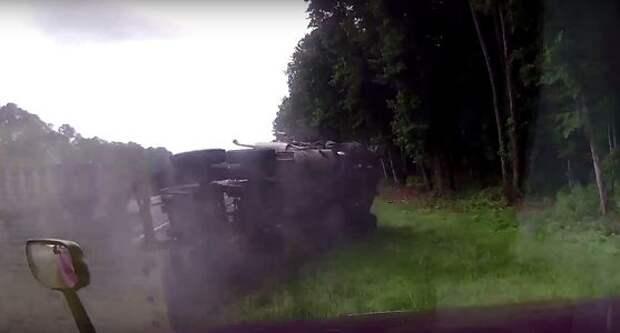 Сон и кошмар наяву: чудовищная авария грузовиков