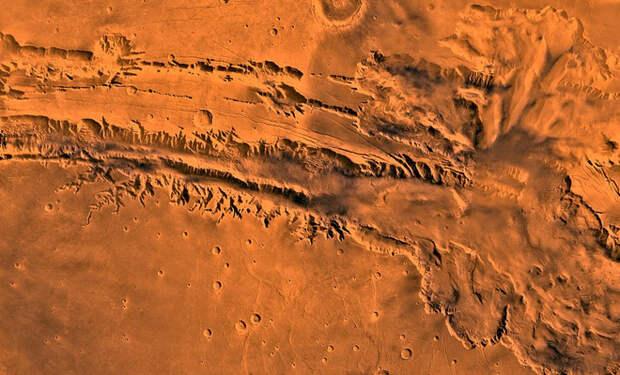 5 самых красивых мест на Марсе по словам ученых