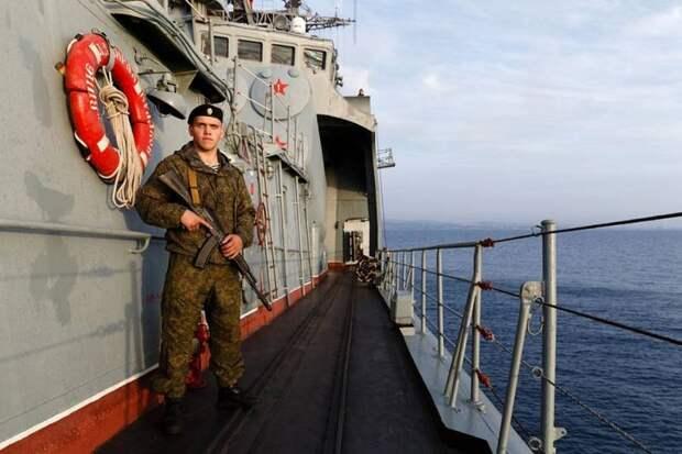 Россия ответила на заявление главы НАТО выводом в море сразу двух флотов