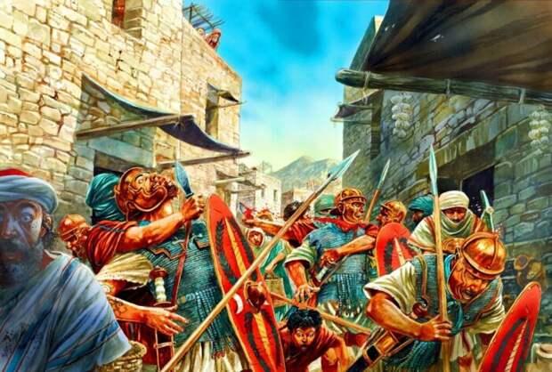 В Палестине то и дело вспыхивали восстания против римлян. |Фото: Pinterest.