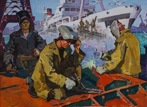 Высокий заработок в СССР, хороший инструмент про запас и музейная атомная подлодка