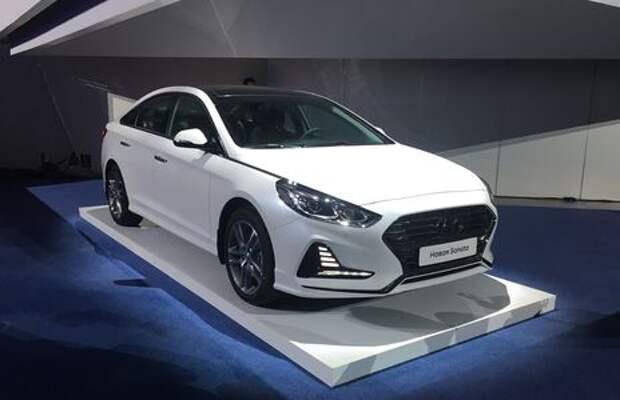 Hyundai объявила российские цены на вернувшуюся Сонату