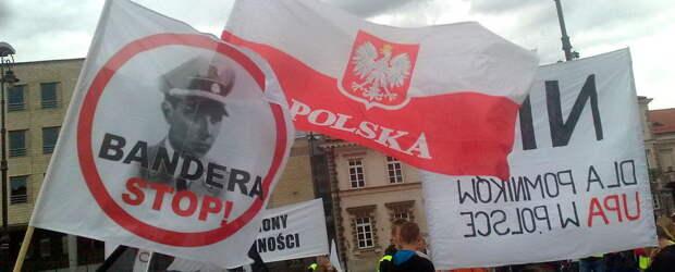 Поляки намяли бока бандеровцу-карателю