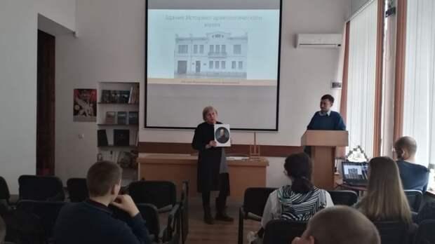 В Восточно-Крымском историко-культурном музее-заповеднике для учащихся проведено мероприятие, посвященное 195-летию Керченского музея древностей