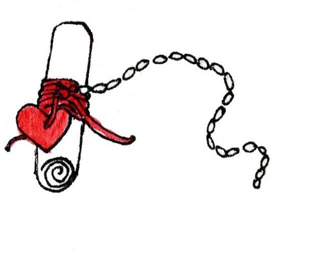 Прекрасная необычная Валентинка-признание (diy)