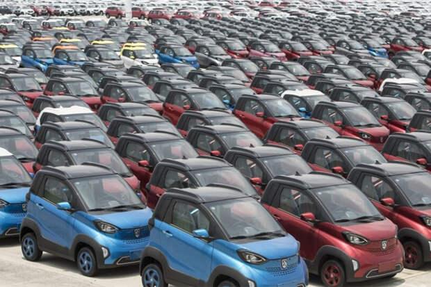 Электромобили Китай КНР