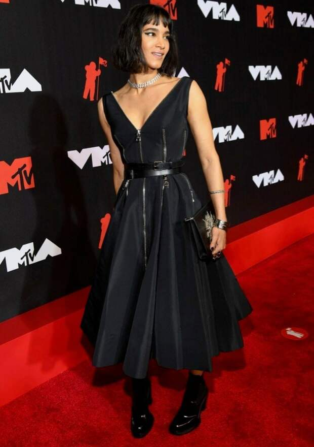 21/32 Sofia Boutella Image: Kevin Mazur/MTV VMAs 2021/Getty Images for MTV/ ViacomCBS