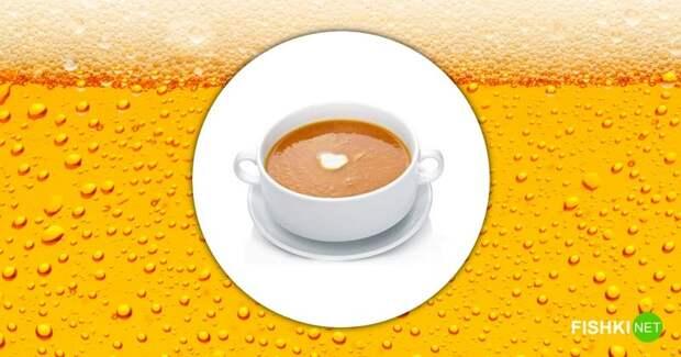 Американский пивной суп блины на пиве, блюда на пиве, еда, курица на пиве, кухня, пиво, рецепты блюд