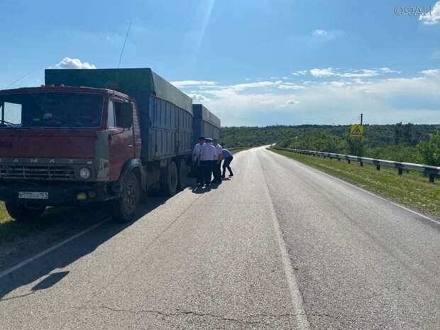 КамАЗ переехал 11-летнюю девочку на пешеходном переходе в Ростовской области