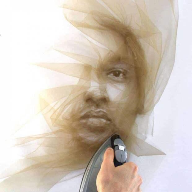 Фатиновые портреты Benjamin Shine