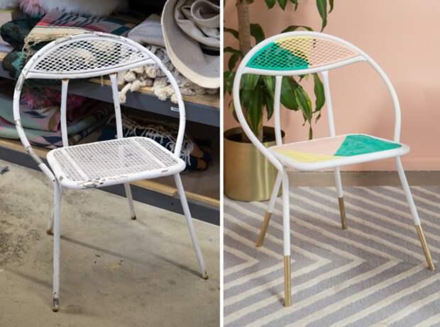 Преображение уличного стула
