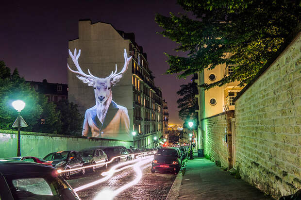 Дикий Париж: стильный проект «Урбанистическое сафари» Жюльена Ноннона