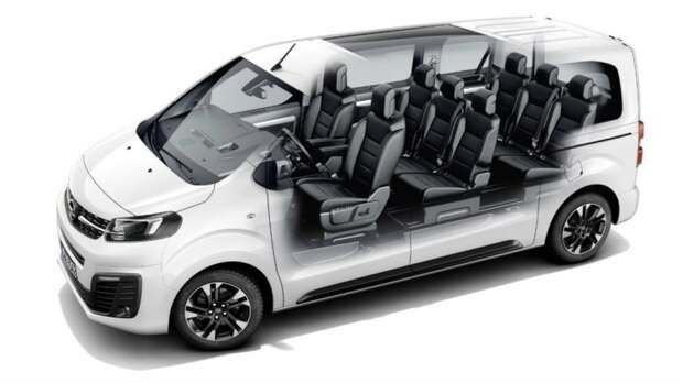 Opel сертифицировал в России Vivaro и Zafira Life