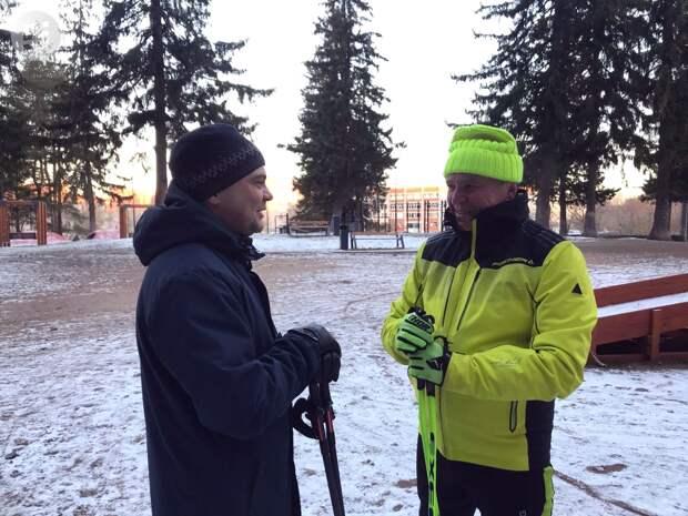 Спикер Гордумы Ижевска Фарит Губаев принял участие в открытии Тропы здоровья