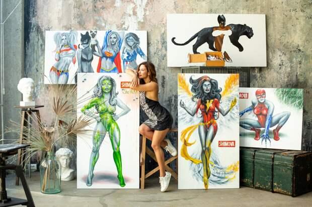 Выставка современной художницы Алины Шимовой