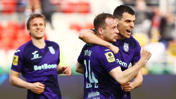 «Уфа» разгромила «Ахмат» в дебютном матче Стукалова