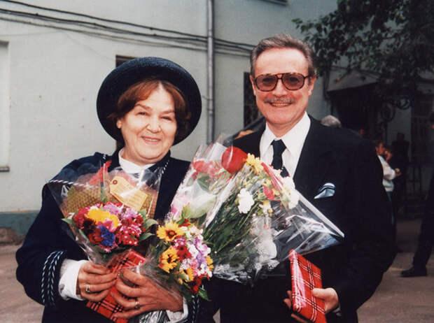 Юрий и Ольга Соломины - короткое счастье длиной в 65 лет