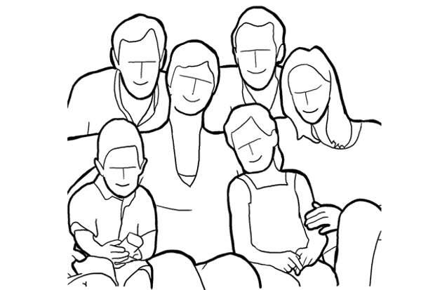 Семейное фото. Как правильно фотографировать
