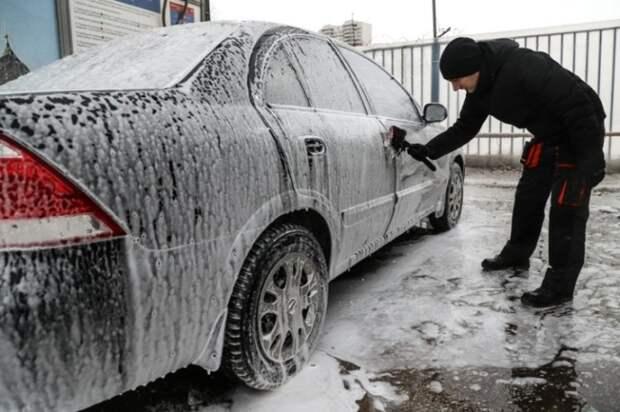 Прежде всего машину нужно помыть. |Фото: yandex.ru.