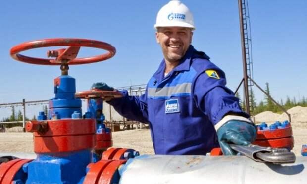 Газпром добыча газа