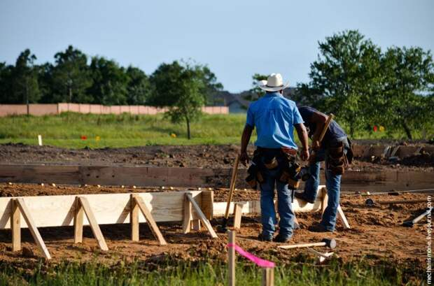 Как строят южные дома в США? Хьюстон, город, какэтоустроено, строительство
