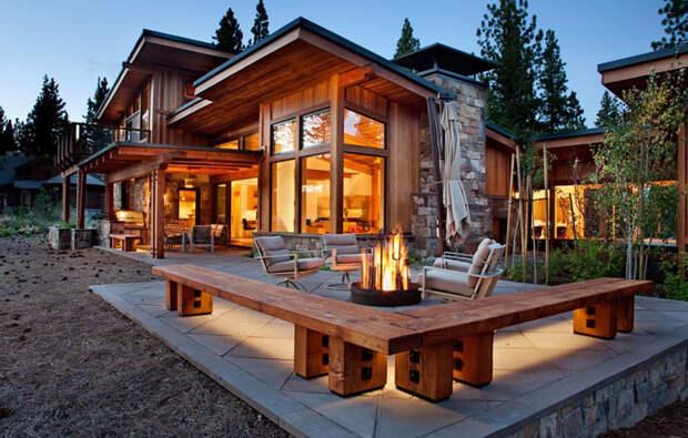 Патио от Ryan Group Architects