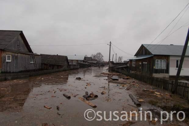 Пик паводка в Удмуртии прогнозируется на третью декаду апреля
