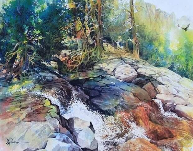 художник Lian Quan Zhen (Лиан Цюань Чжэнь) картины – 16
