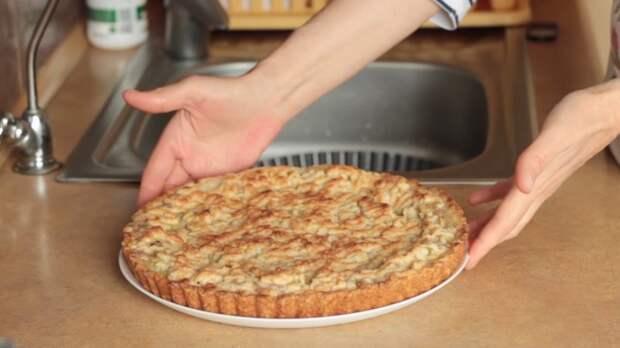 Песочный пирог с ревенем IrinaCooking, видео рецепт, еда, кулинария, песочное тесто, пирог с ревенем, рецепт