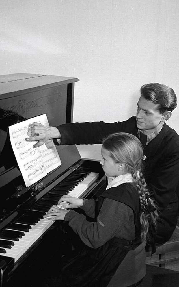 Музыкальная школа СССР, детство, фотографии