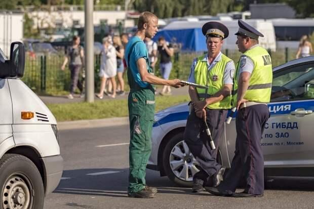 ГИБДД предлагает штрафовать водителей на 5 тыс. рублей за опасное вождение