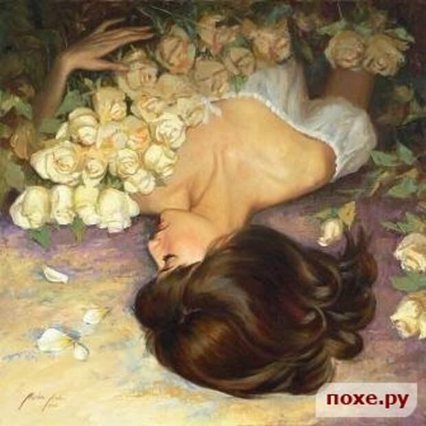 Почему женщины любят цветы?