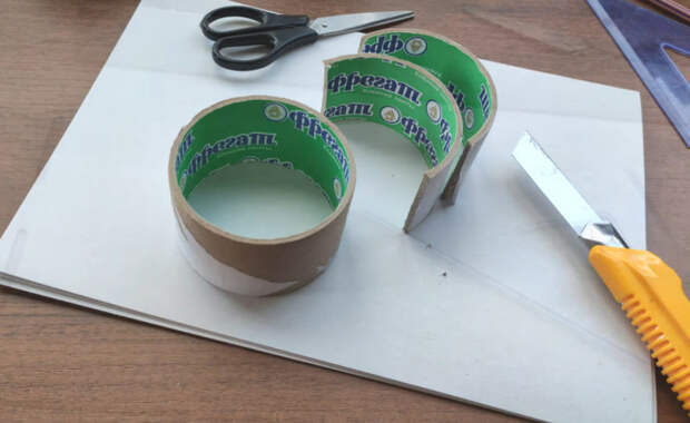 Крутое применения бобин от скотча для рукодельниц