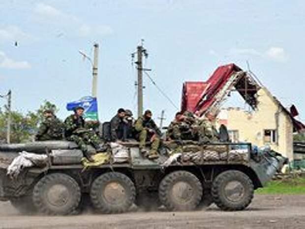 Новость на Newsland: Украина направила боевую технику к границе с Крымом