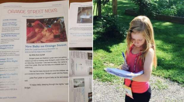 5 фактов о 13-летней Хильде Лишак, которая уже стала успешной журналисткой