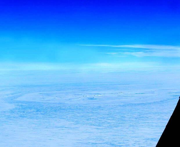 В Антарктиде обнаружен загадочный круг