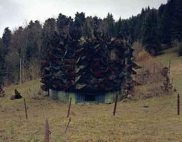 Секретные бункеры, замаскированные под швейцарские виллы