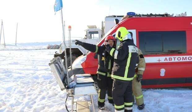 Ликвидирован пожар нанефтяной скважине вОренбургской области