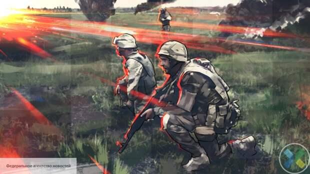 ВСУ на Пасху обстреляли территорию ДНР из гранатометов