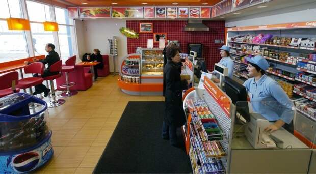 Кофе на АЗС: этикет или навязанное хамство? азс, кафе, сервис