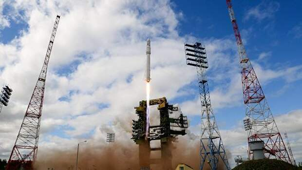 Ракета космического назначения легкого класса Ангара-1.2ПП во время старта на космодроме Плесецк. Архивное фото