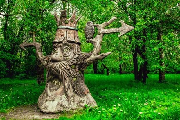 Скульптуры из Берендеева сада убрали для безопасности посетителей