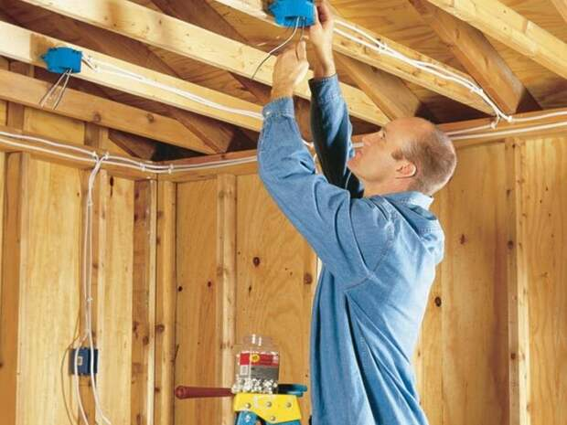 Делаем электропроводку в доме самостоятельно